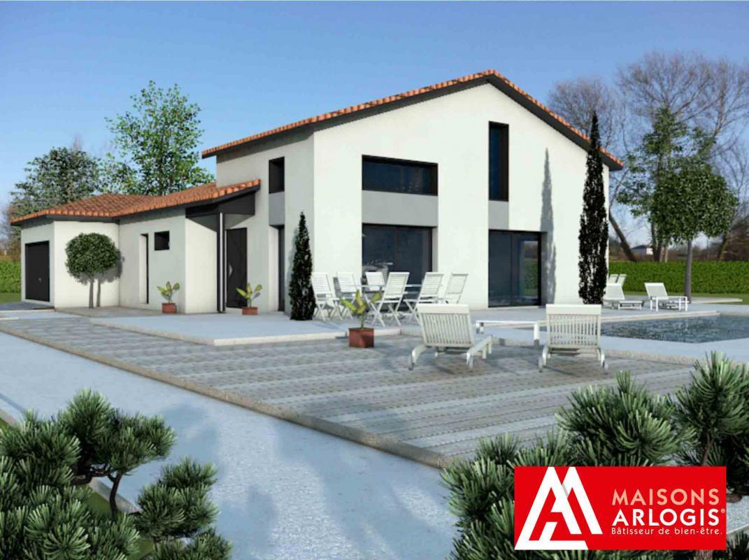 Maisons + Terrains du constructeur MAISONS ARLOGIS MACON • 120 m² • SENNECE LES MACON