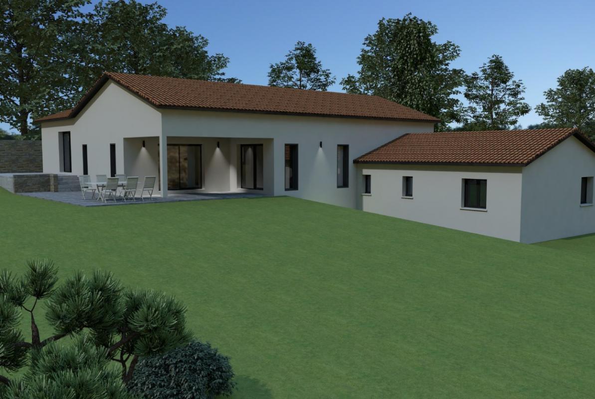 Maisons + Terrains du constructeur MAISONS ARLOGIS MACON • 156 m² • CLUNY