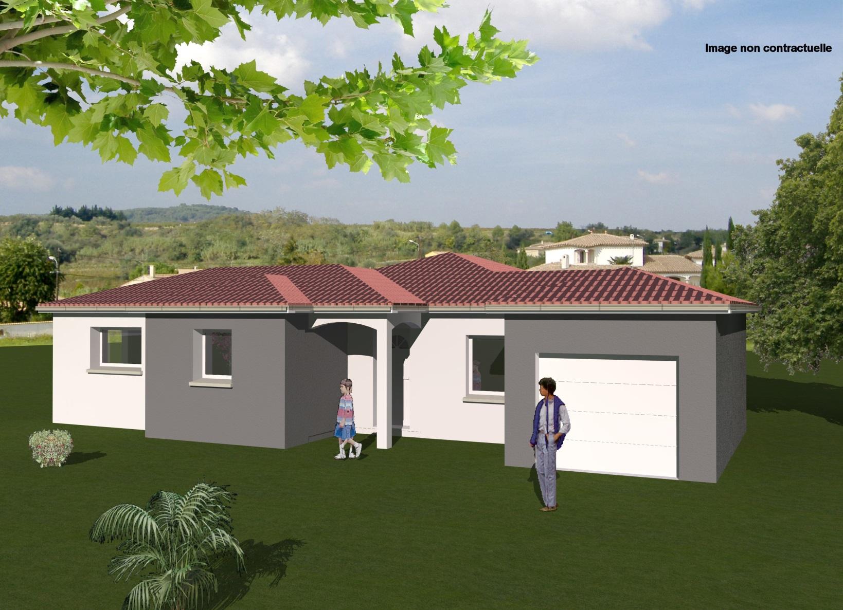 Maisons + Terrains du constructeur MAISONS CONCEPT 2000 •  m² • LEZOUX