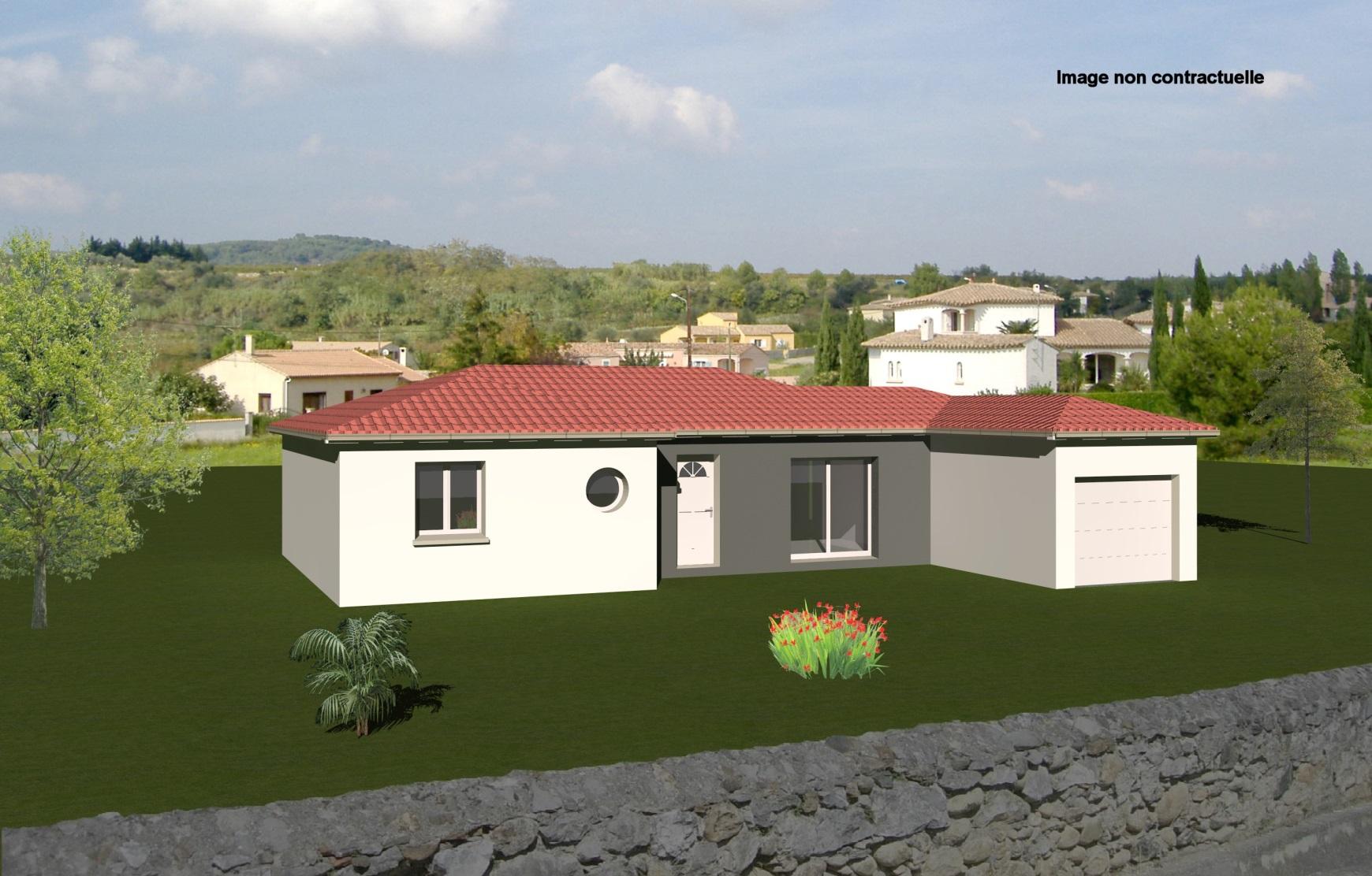Maisons + Terrains du constructeur MAISONS CONCEPT 2000 •  m² • MOISSAT
