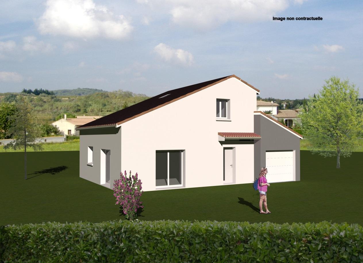Maisons + Terrains du constructeur MAISONS CONCEPT 2000 •  m² • PONT DU CHATEAU