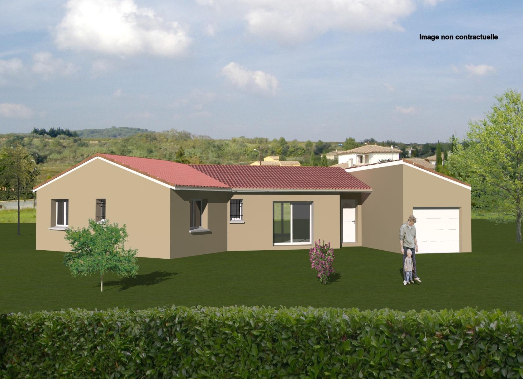 Maisons + Terrains du constructeur MAISONS CONCEPT 2000 •  m² • SAUXILLANGES