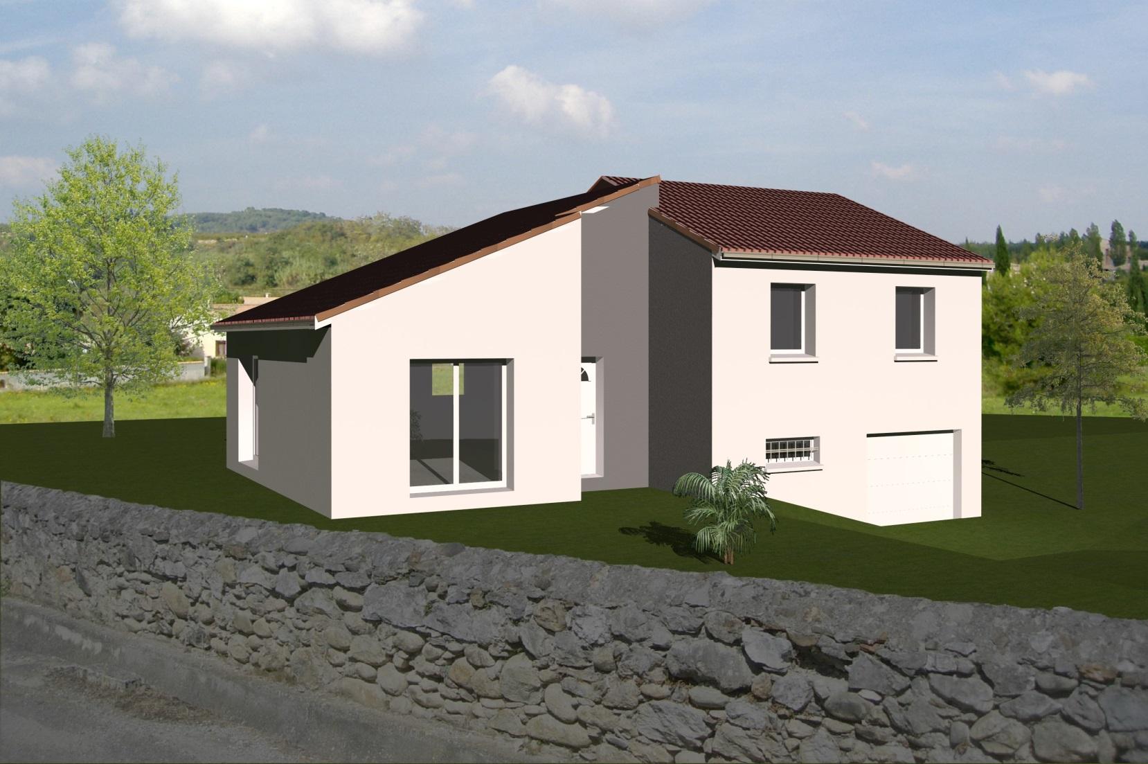 Maisons + Terrains du constructeur MAISONS CONCEPT 2000 •  m² • BEAUREGARD L'EVEQUE