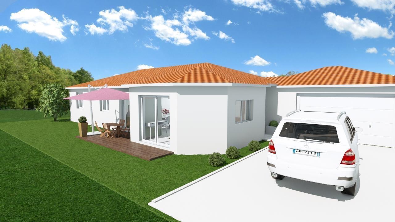 Maisons + Terrains du constructeur MAISONS CONCEPT 2000 •  m² • VOLVIC
