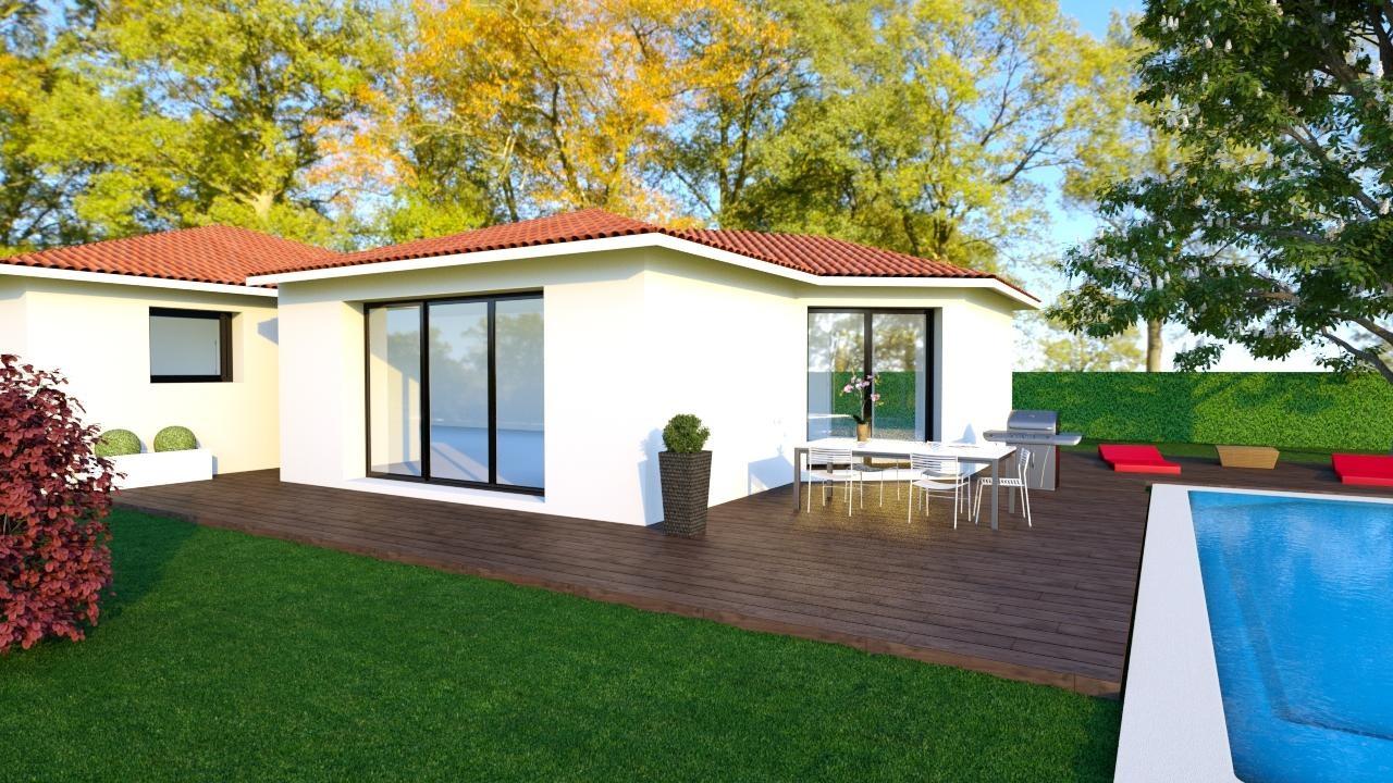 Maisons + Terrains du constructeur MAISONS CONCEPT 2000 •  m² • LEMPTY