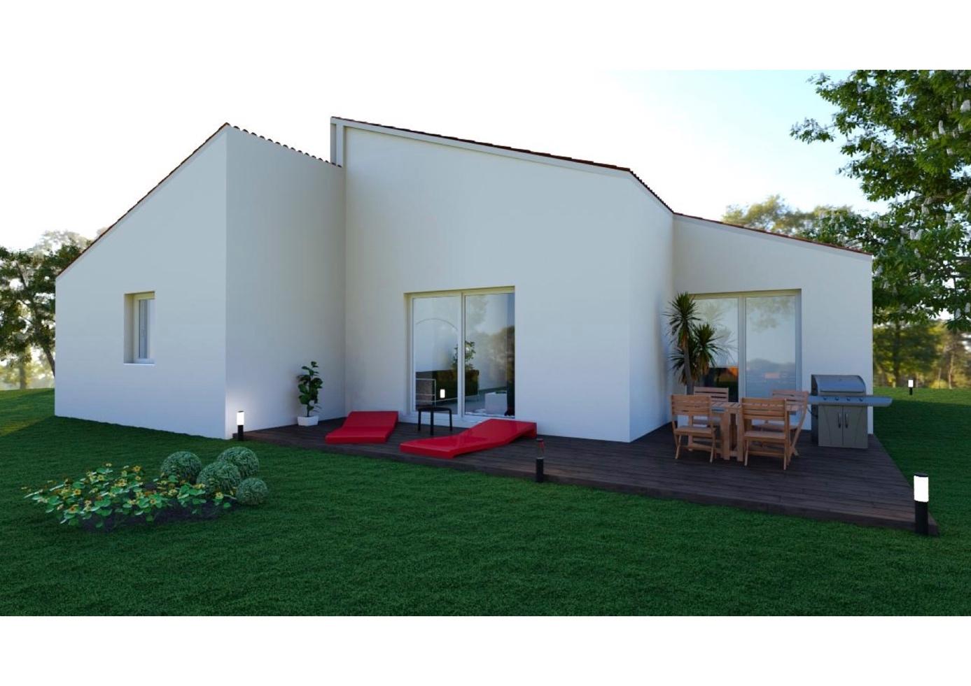 Maisons + Terrains du constructeur MAISONS CONCEPT 2000 •  m² • MEZEL
