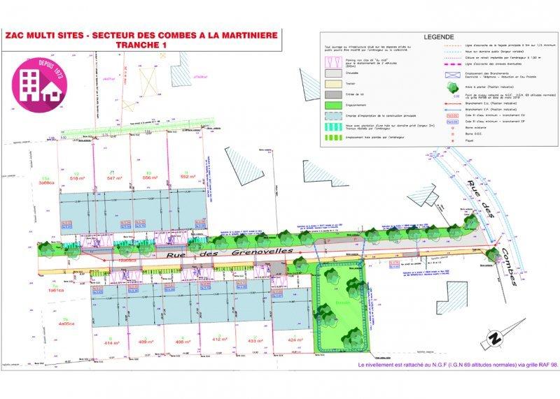 Terrains du constructeur VRIGNAUD ET BIRON IMMOBILIER • 518 m² • NOTRE DAME DE RIEZ
