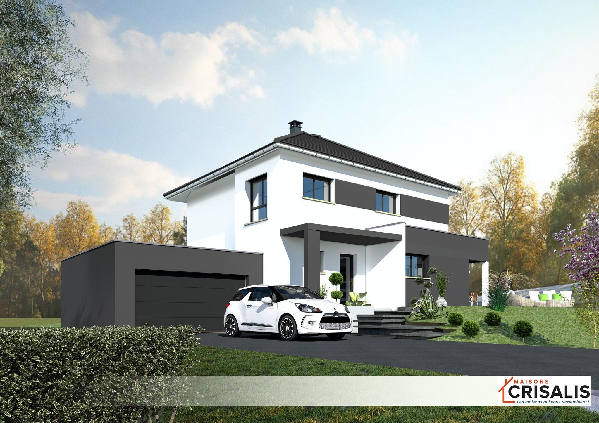 Maisons + Terrains du constructeur MAISONS CRISALIS • 138 m² • ZILLISHEIM