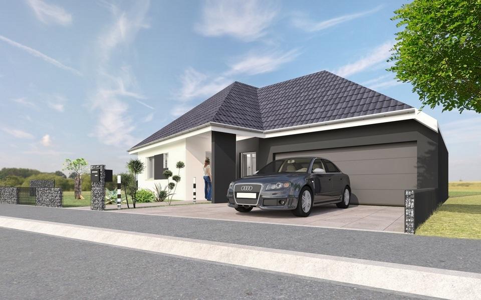 Maisons + Terrains du constructeur MAISONS CRISALIS • 130 m² • LEYMEN