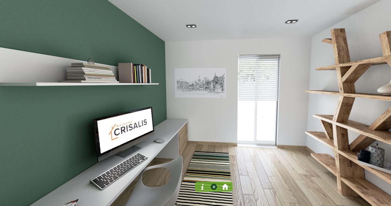 Maisons + Terrains du constructeur MAISONS CRISALIS • 97 m² • FOLGENSBOURG