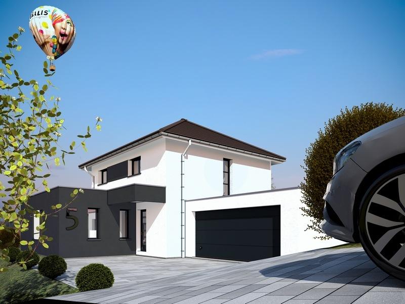 Maisons + Terrains du constructeur MAISONS CRISALIS • 135 m² • BURNHAUPT LE BAS