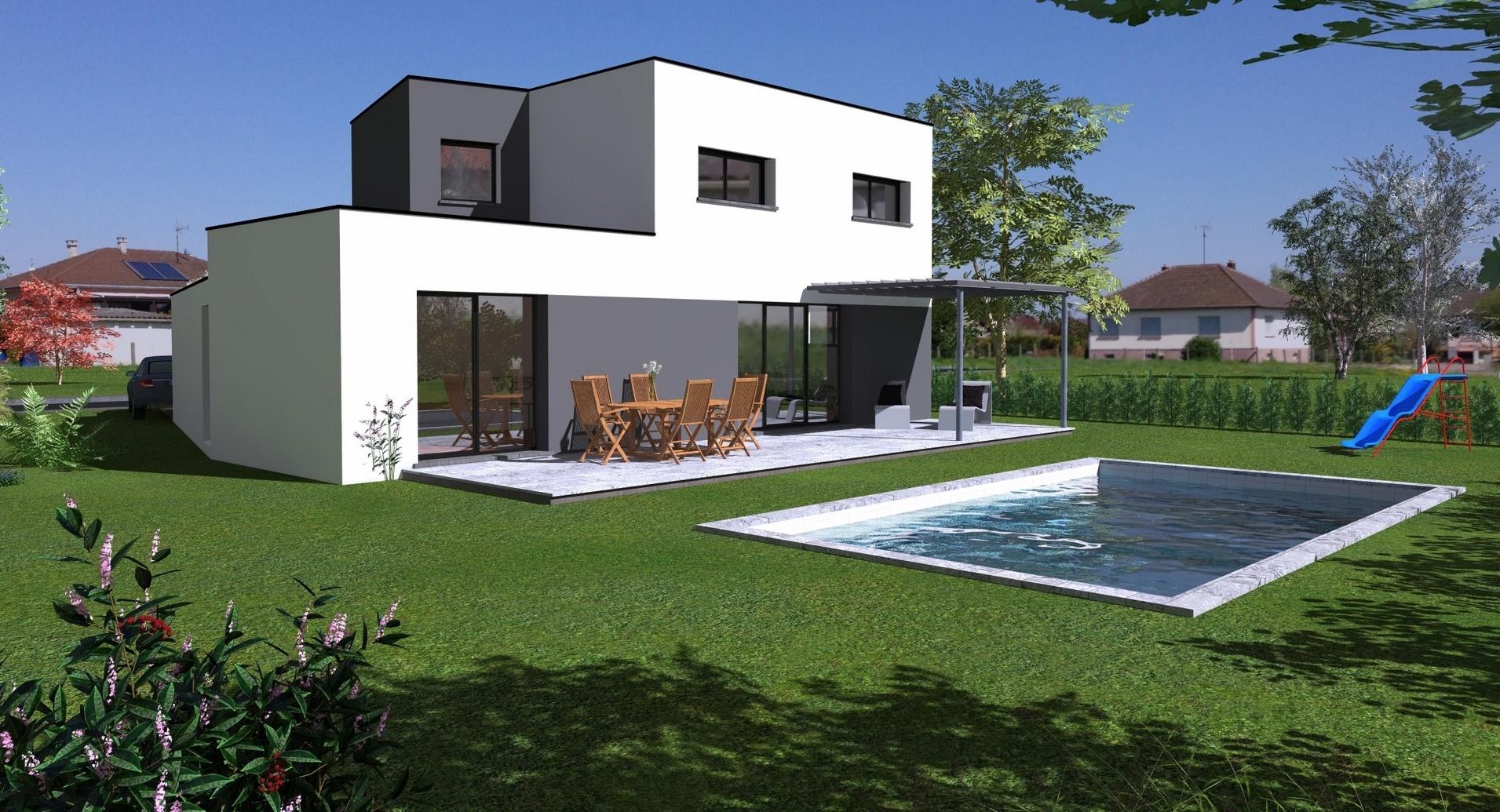 Maisons + Terrains du constructeur MAISONS CRISALIS • 117 m² • KEMBS