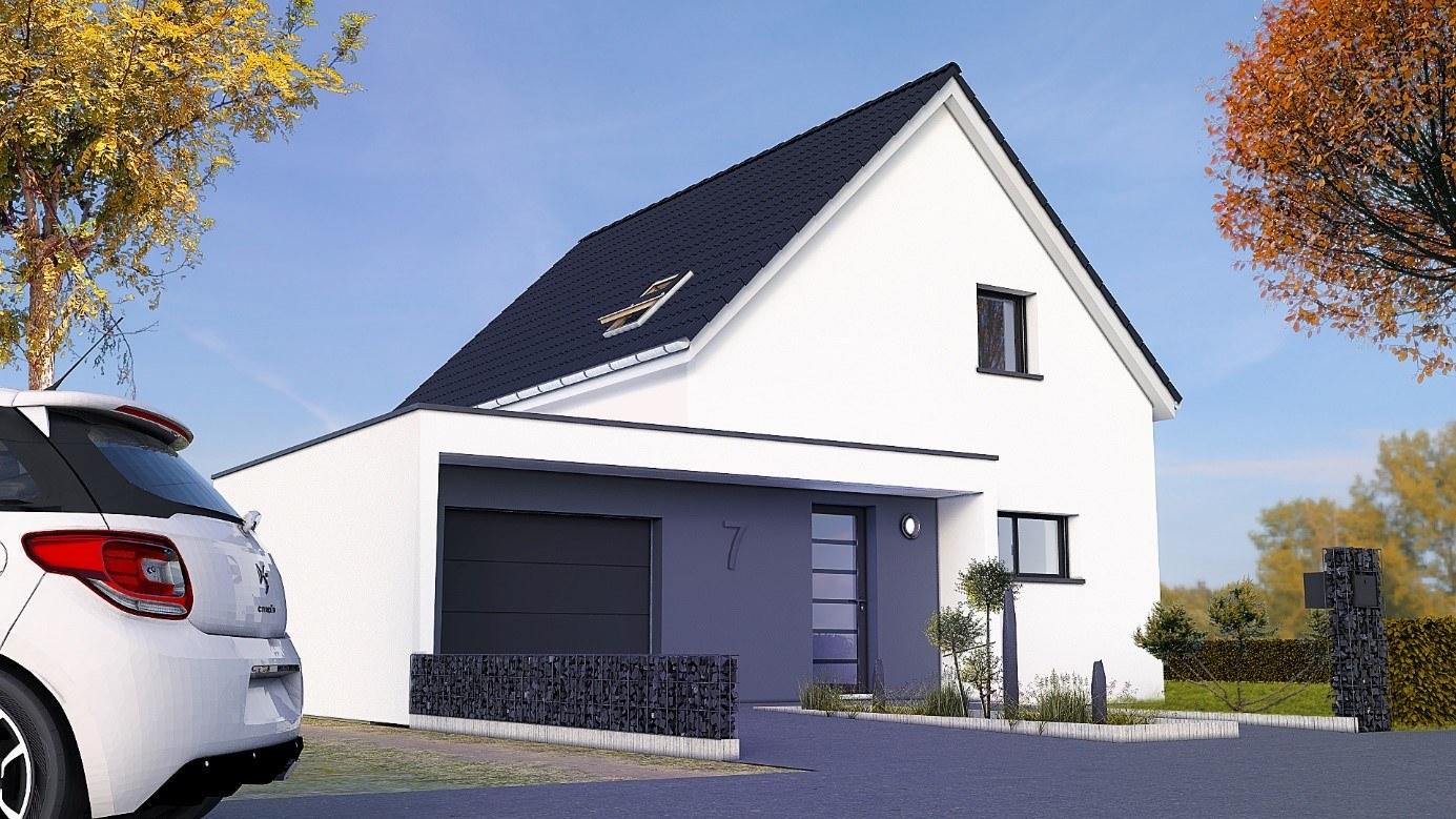 Maisons + Terrains du constructeur MAISONS CRISALIS • 90 m² • ILLZACH