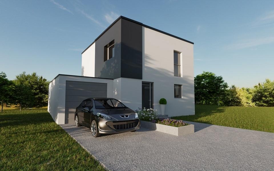 Maisons + Terrains du constructeur MAISONS CRISALIS • 100 m² • KEMBS