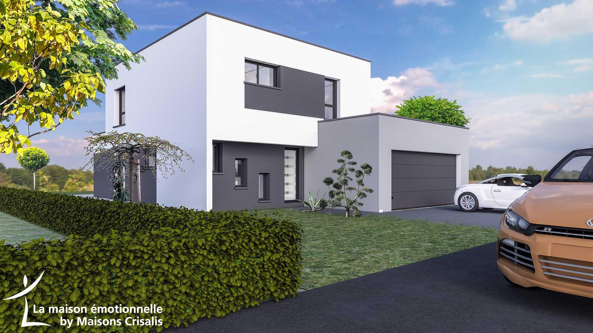 Maisons + Terrains du constructeur MAISONS CRISALIS • 110 m² • BRUNSTATT