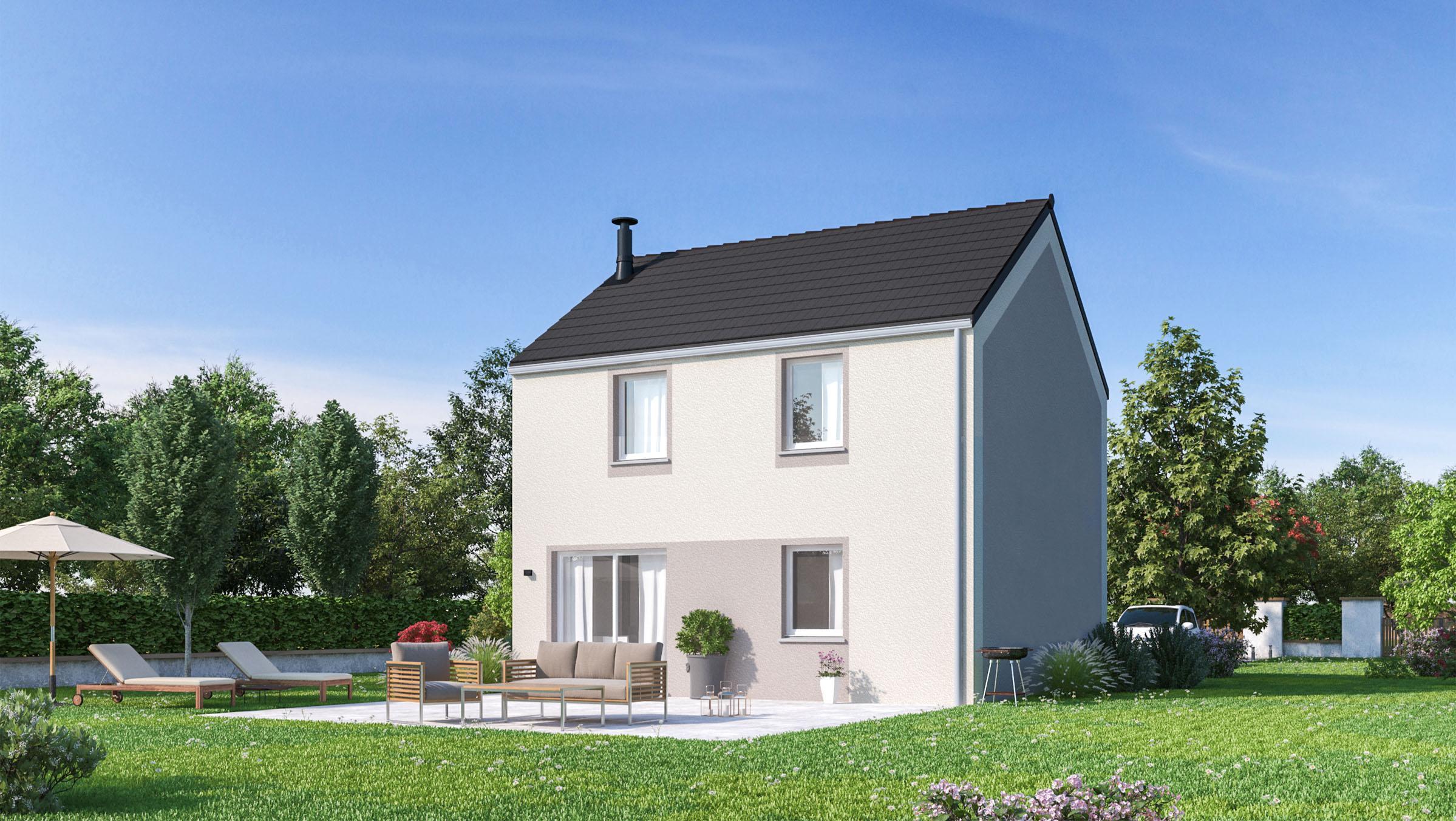 Maisons + Terrains du constructeur MAISONS PHENIX • 83 m² • GORZE