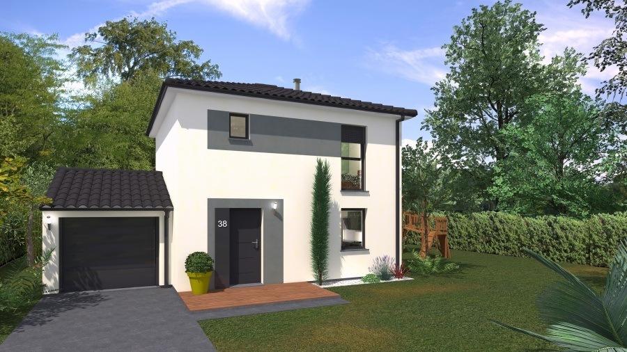 Maisons + Terrains du constructeur MAISONS PHENIX • 116 m² • COURCELLES CHAUSSY