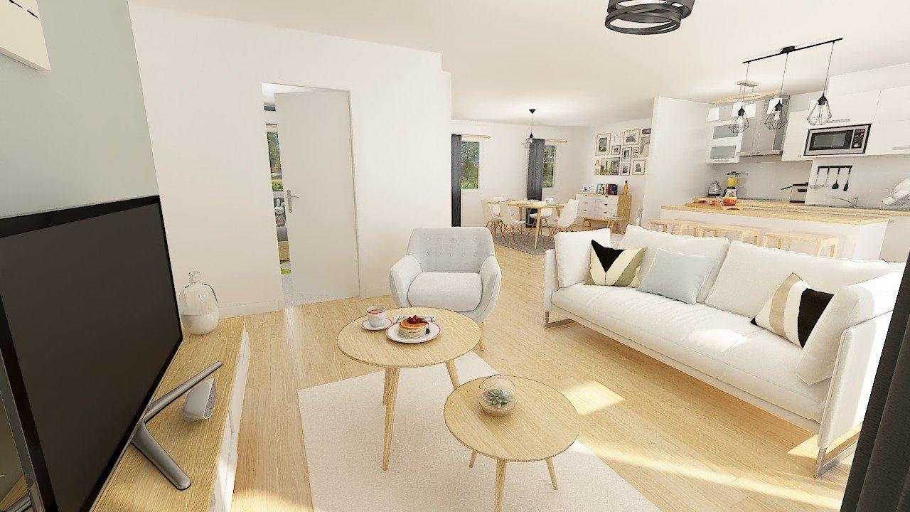 Maisons + Terrains du constructeur MAISONS PHENIX • 99 m² • SEMECOURT
