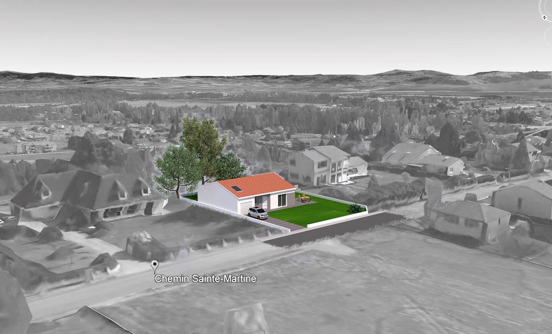 Maisons + Terrains du constructeur TRADIMAISONS •  m² • PONT DU CHATEAU