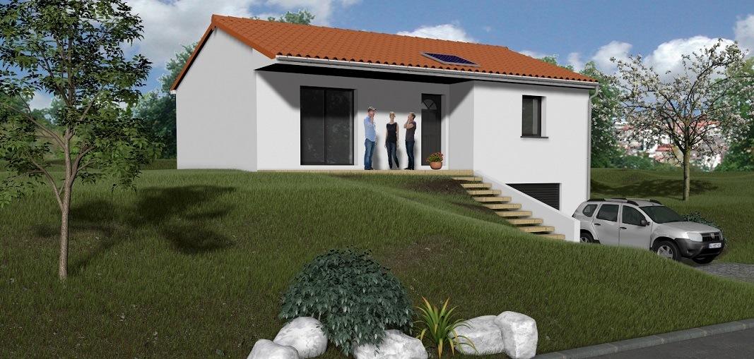 Maisons + Terrains du constructeur TRADIMAISONS •  m² • DALLET