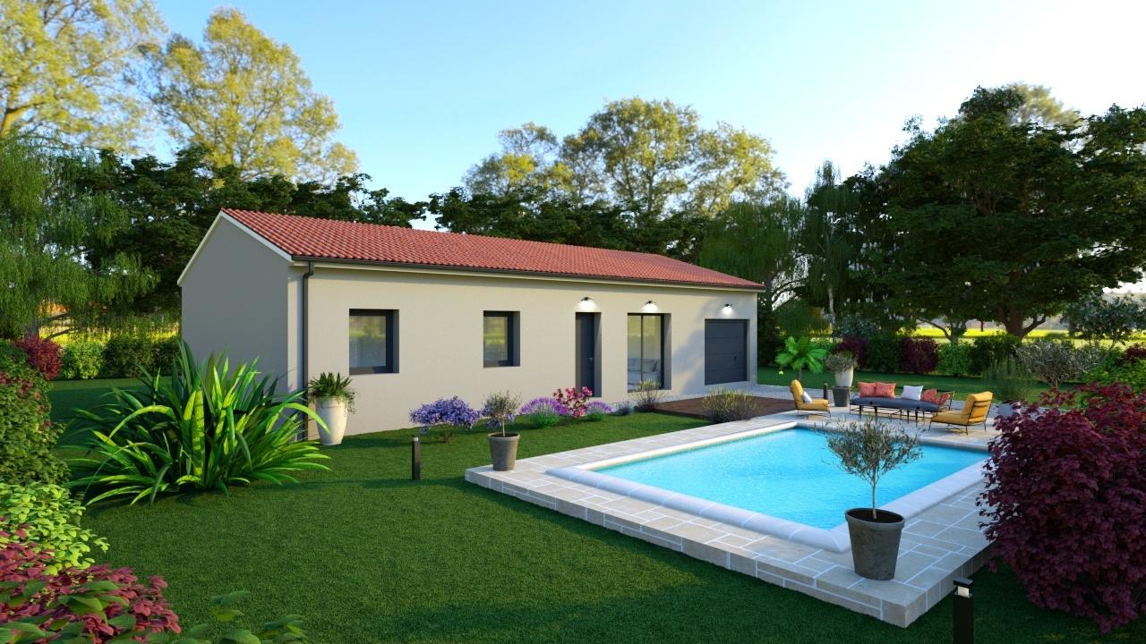 Maisons + Terrains du constructeur TRADIMAISONS •  m² • RIOM