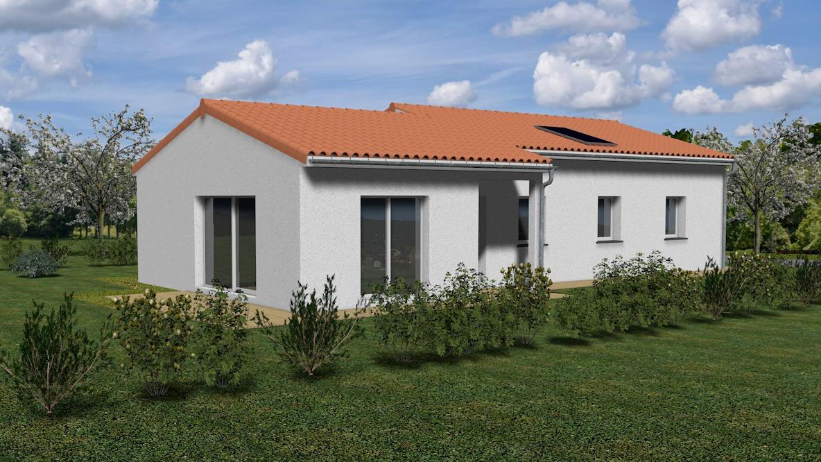 Maisons + Terrains du constructeur TRADIMAISONS • SAINT GENES CHAMPANELLE