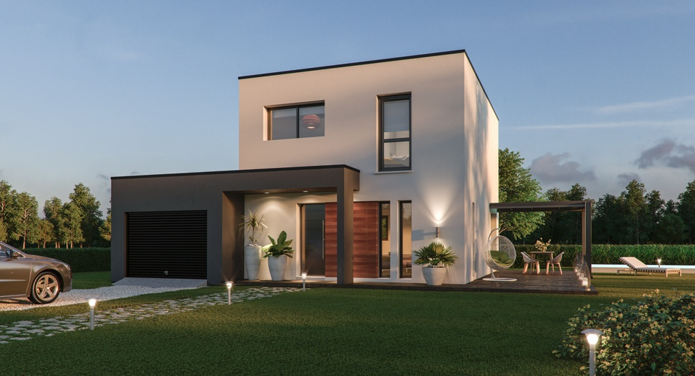 Maisons + Terrains du constructeur TRADIMAISONS •  m² • CEBAZAT