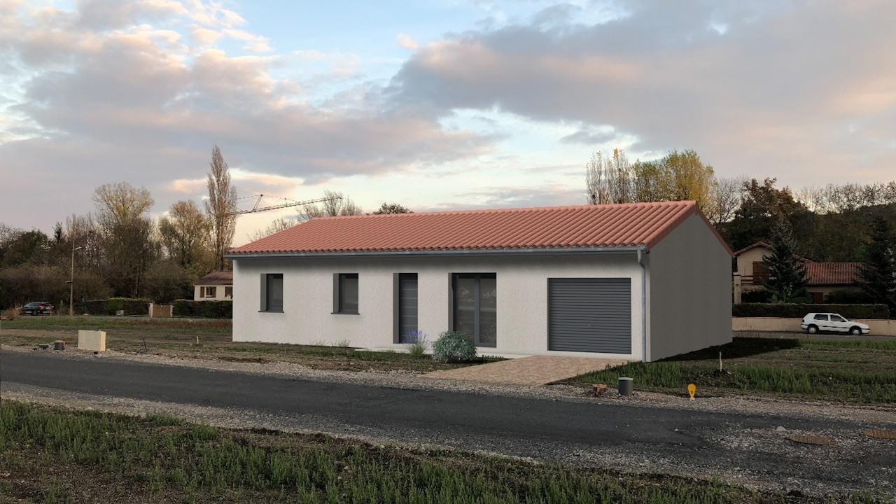 Terrains du constructeur TRADIMAISONS • 578 m² • ENNEZAT