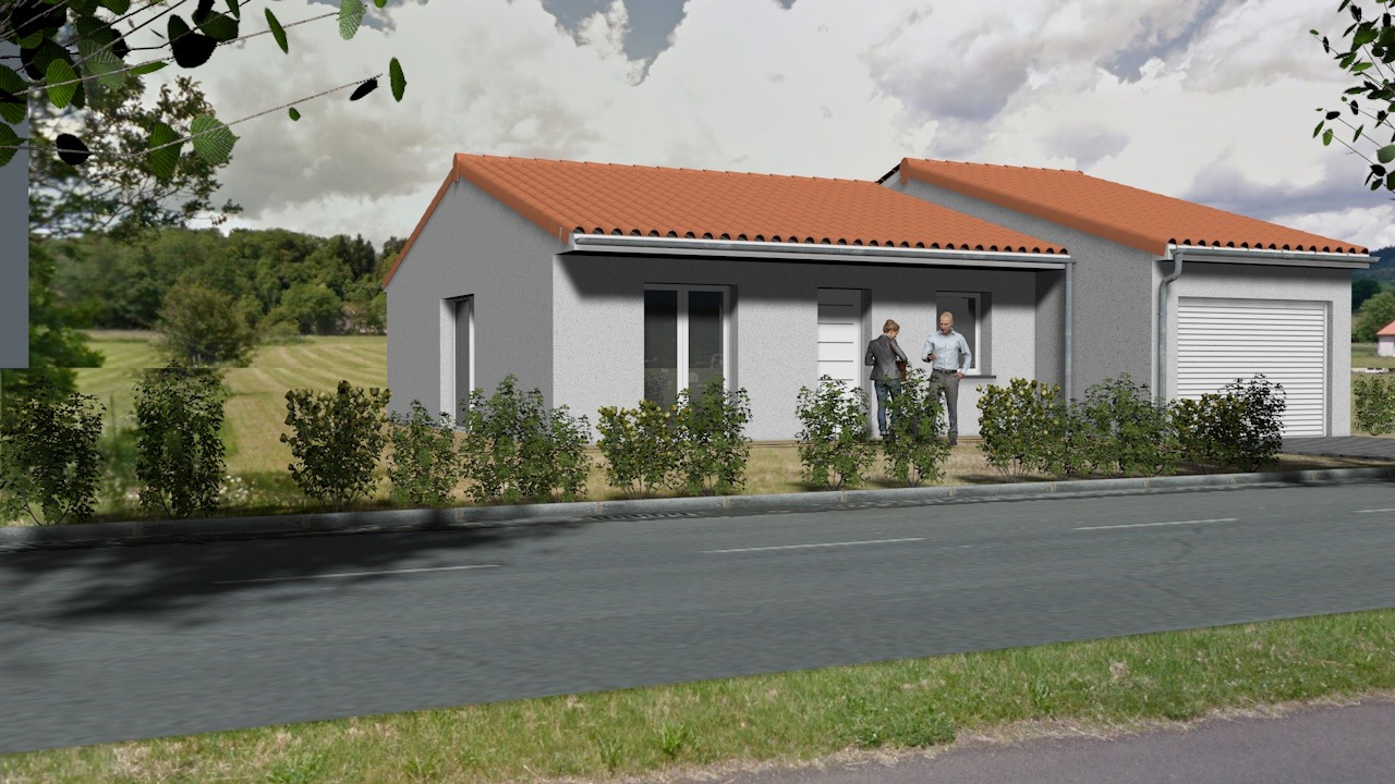 Maisons + Terrains du constructeur TRADIMAISONS • 85 m² • VIC LE COMTE