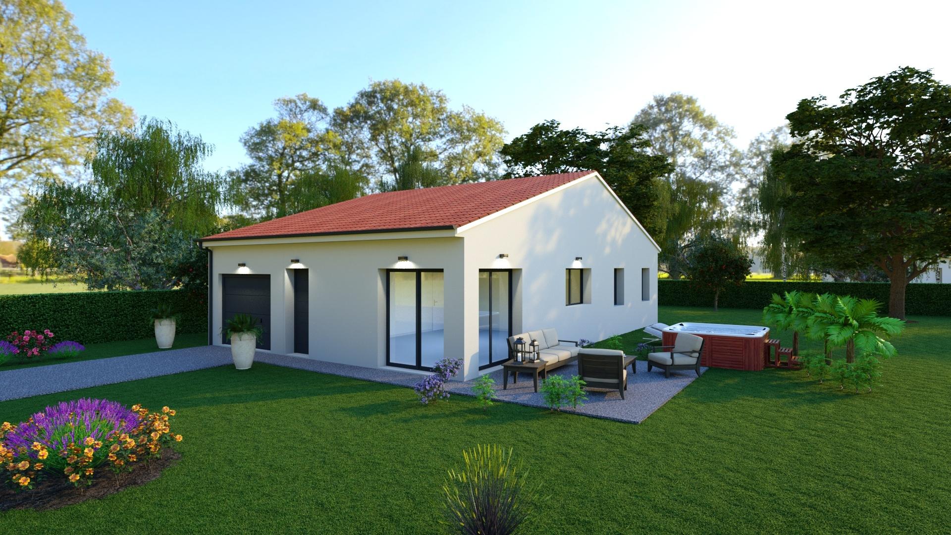 Maisons + Terrains du constructeur TRADIMAISONS •  m² • PLAUZAT