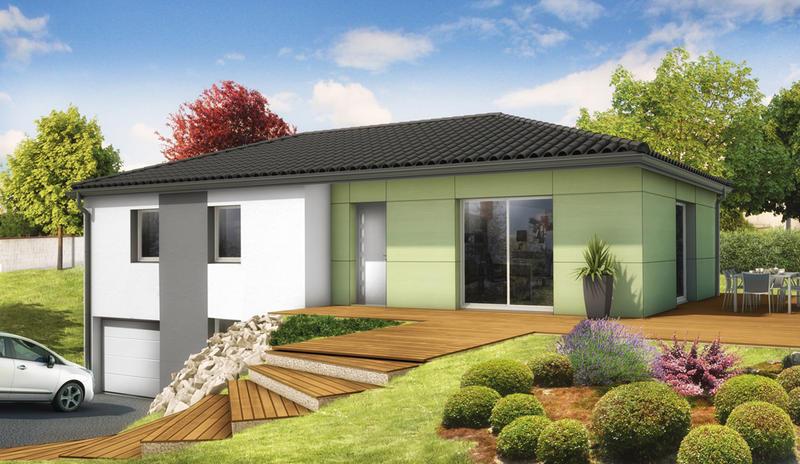 Maisons du constructeur MAISONS ELAN • 91 m² • DALLET