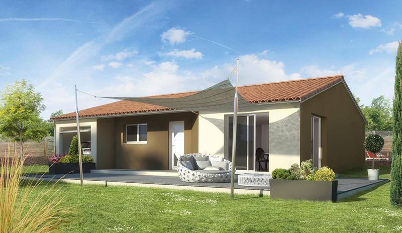 Maisons du constructeur MAISONS ELAN • 92 m² • CHAMPEIX