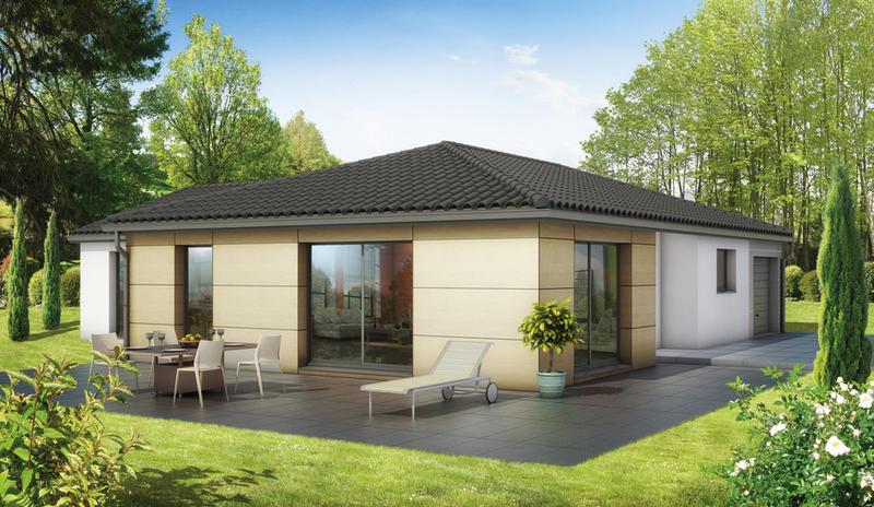Maisons du constructeur MAISONS ELAN • 136 m² • MARSAT