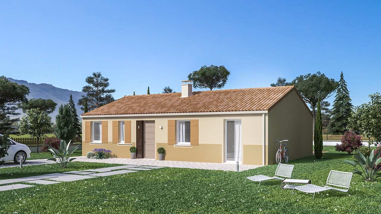 Maisons + Terrains du constructeur Maison Castor • 99 m² • AUTERIVE