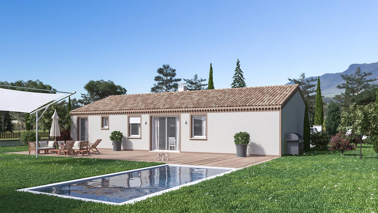 Maisons + Terrains du constructeur Maison Castor • 99 m² • MONTCLAR LAURAGAIS