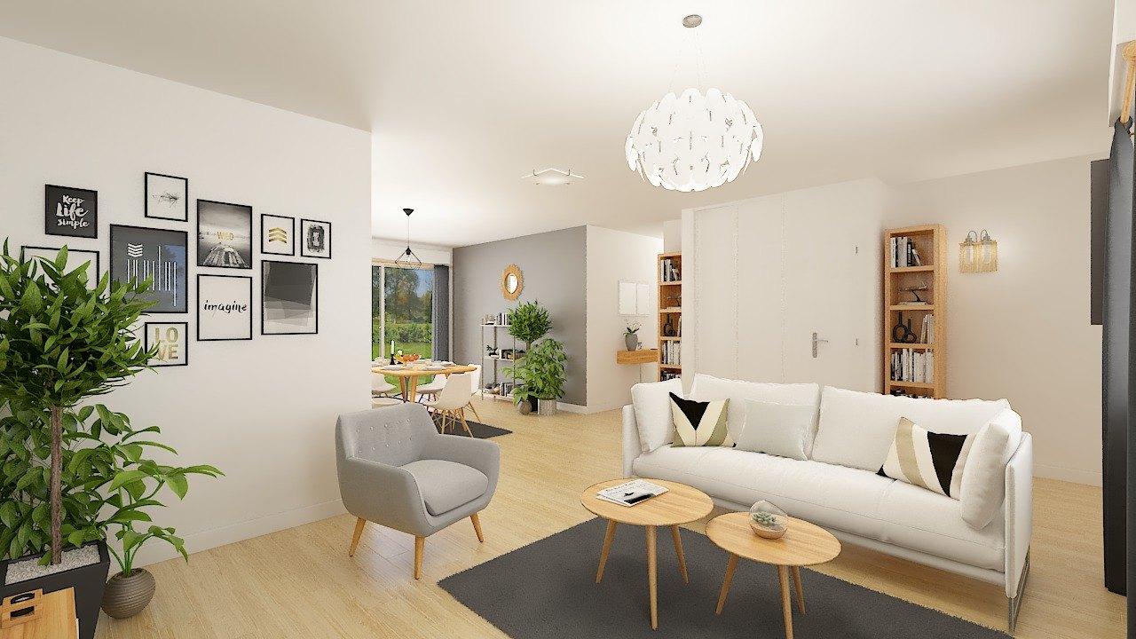 Maisons + Terrains du constructeur Maison Castor • 99 m² • RENNEVILLE