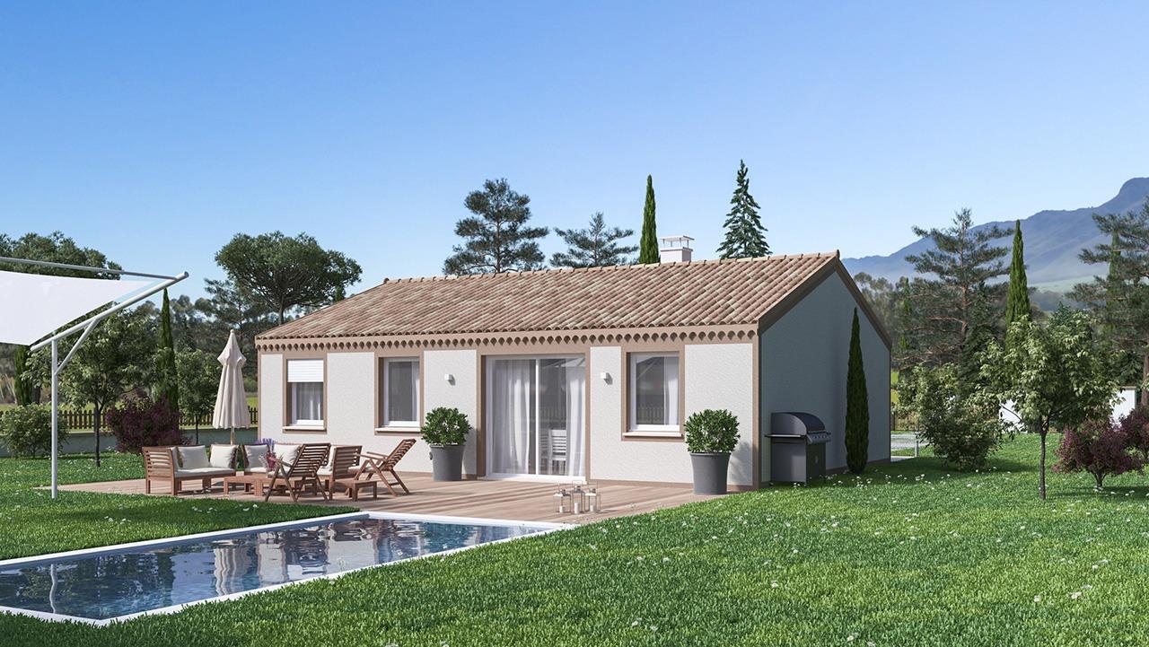 Maisons + Terrains du constructeur Maison Castor • 84 m² • VILLEMUR SUR TARN