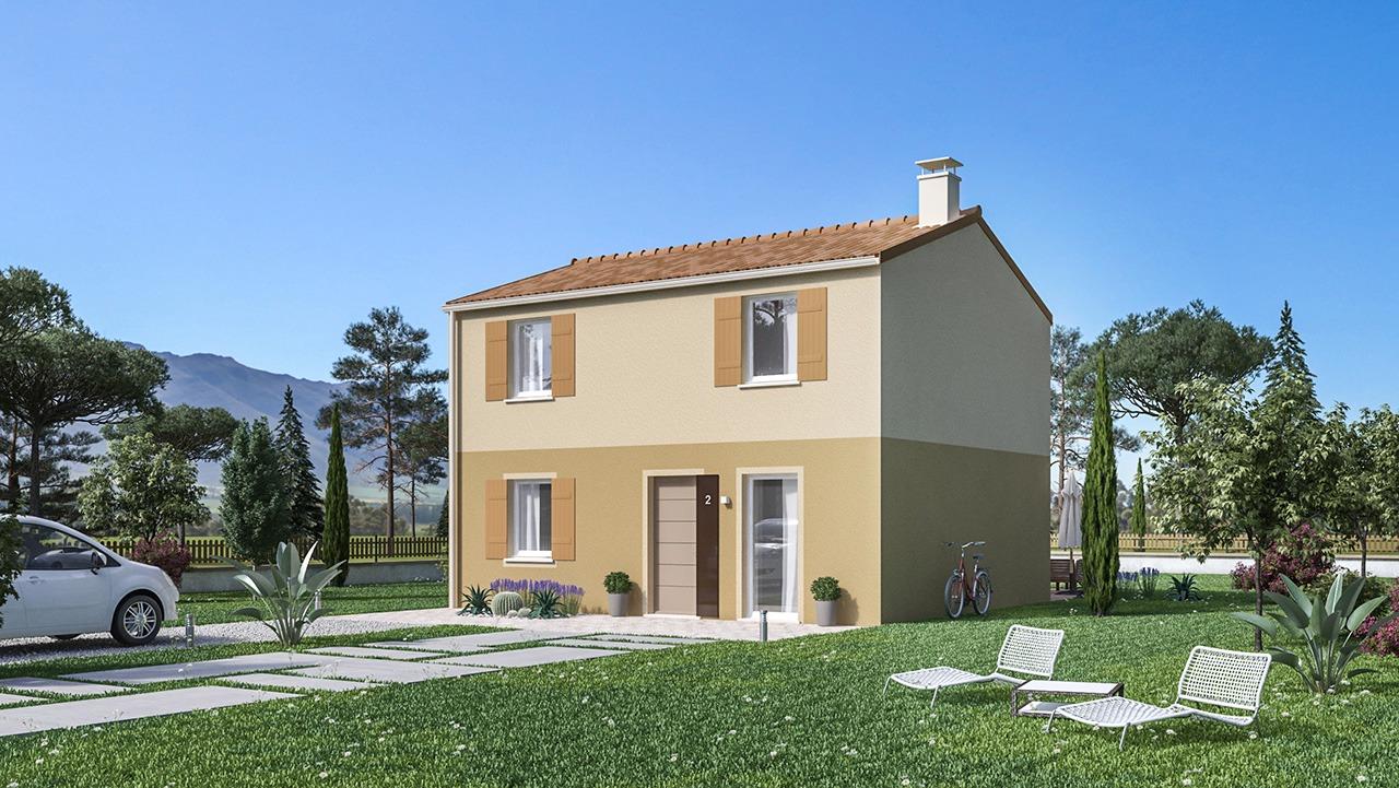 Maisons + Terrains du constructeur Maison Castor • 106 m² • TOUTENS