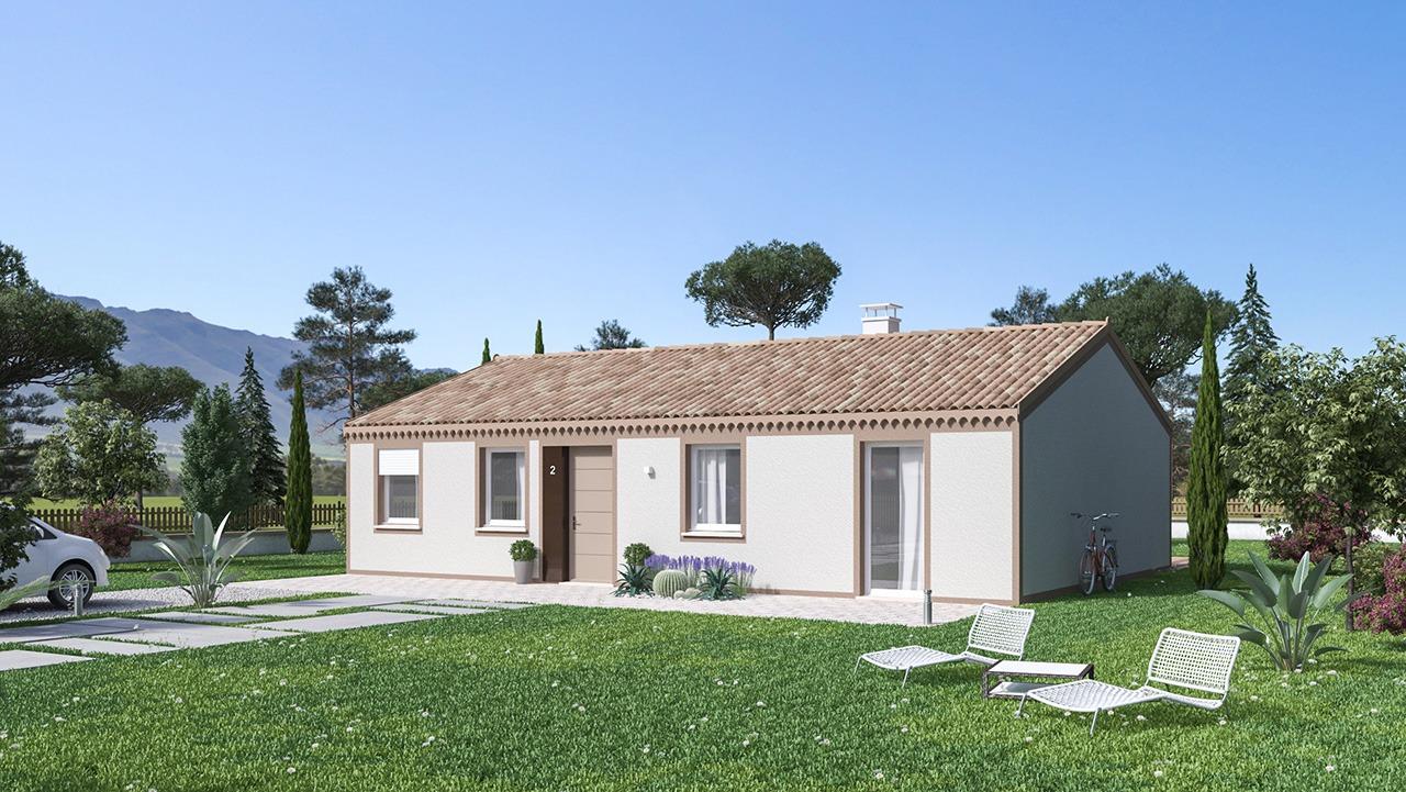 Maisons + Terrains du constructeur Maison Castor • 99 m² • NOE