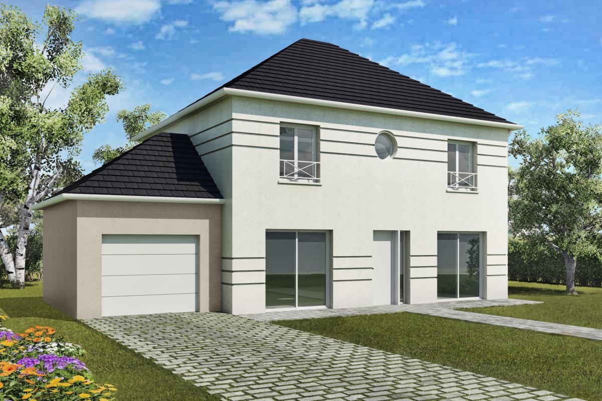 Maisons + Terrains du constructeur MAISONS DELMAS • 128 m² • GERMIGNY L'EVEQUE