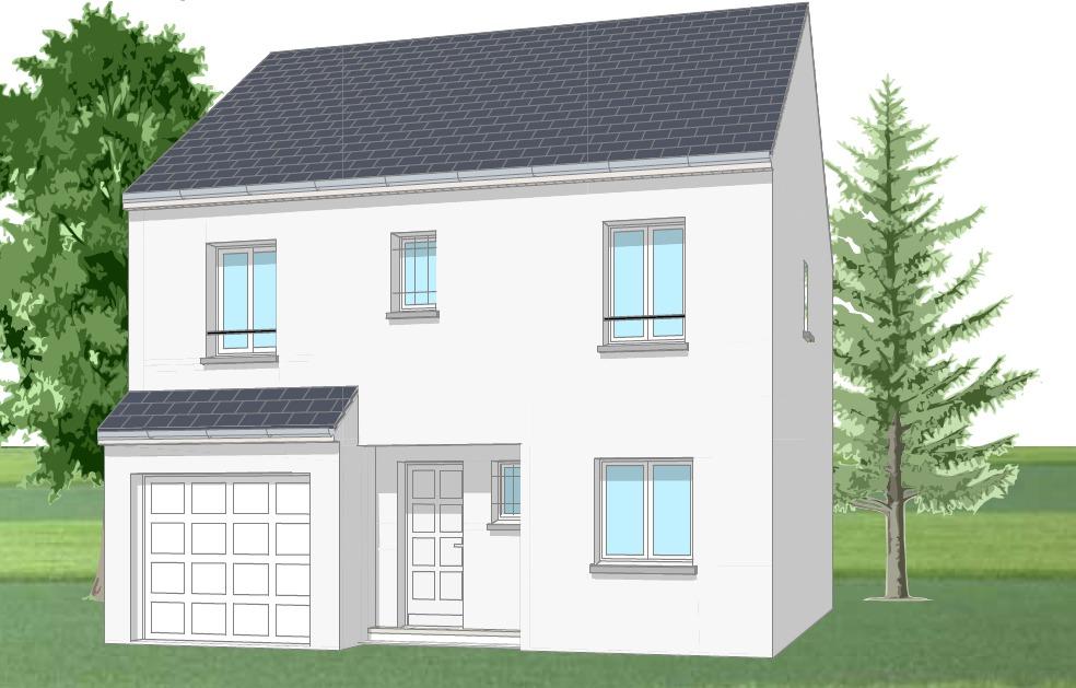 Maisons + Terrains du constructeur MAISONS DELMAS • 103 m² • MEAUX