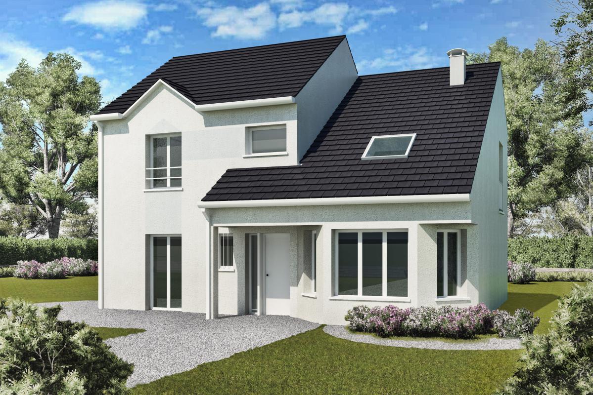 Maisons + Terrains du constructeur MAISONS DELMAS • 119 m² • SAINT PATHUS