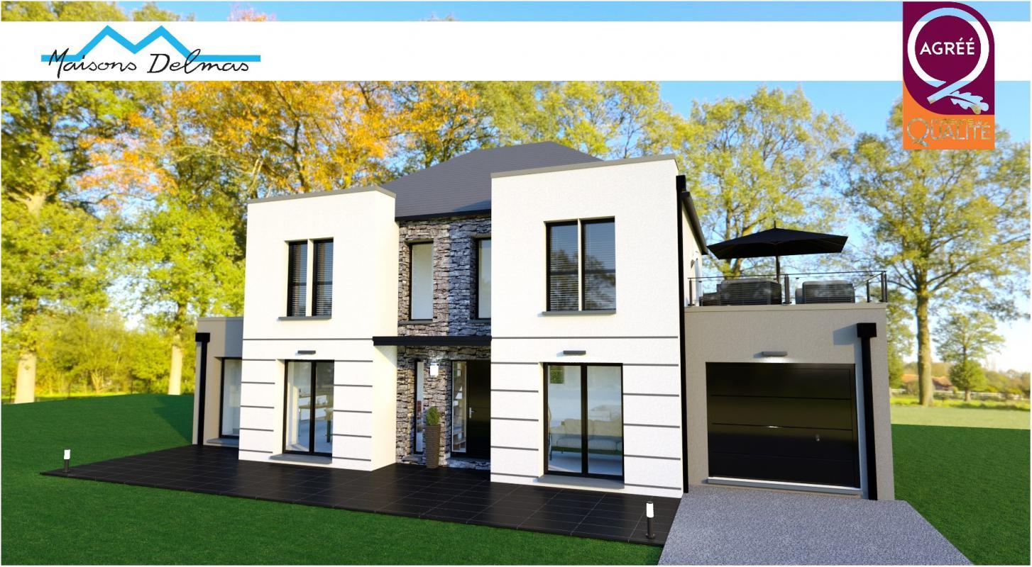 Terrains du constructeur MAISONS DELMAS • 157 m² • LA ROCHETTE