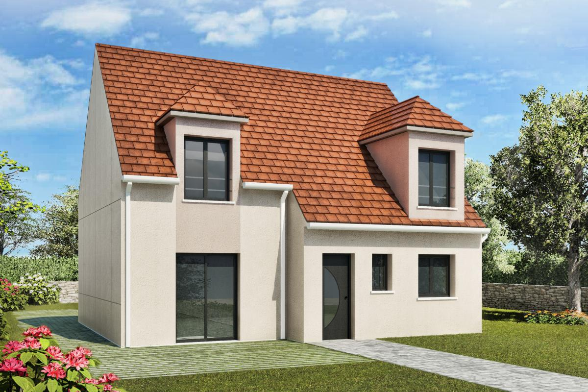 Maisons + Terrains du constructeur MAISONS DELMAS • 117 m² • MONTGE EN GOELE