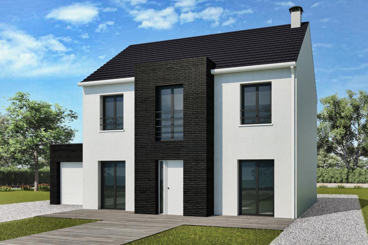 Maisons + Terrains du constructeur MAISONS DELMAS • 117 m² • TOURNAN EN BRIE
