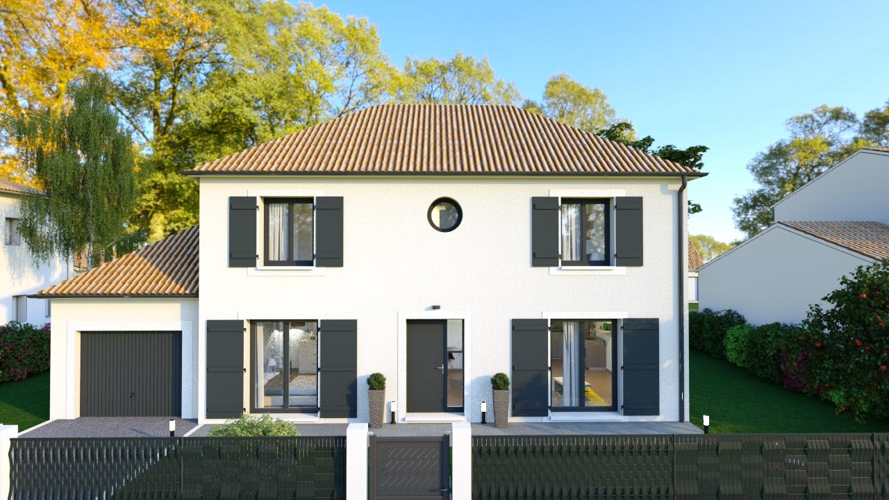 Maisons + Terrains du constructeur MAISONS DELMAS • 121 m² • FAREMOUTIERS