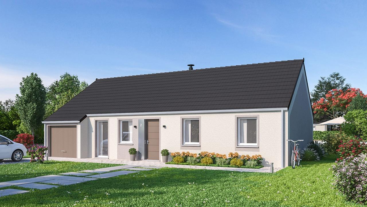 Maisons + Terrains du constructeur MAISONS PHENIX MOISSELLES/BAILLET EN FC • 102 m² • MERU