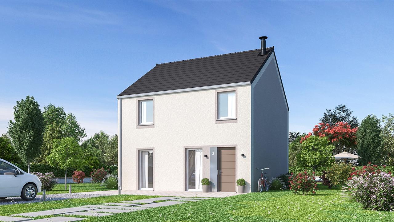 Maisons + Terrains du constructeur MAISONS PHENIX MOISSELLES/BAILLET EN FC • 116 m² • BEAUMONT SUR OISE