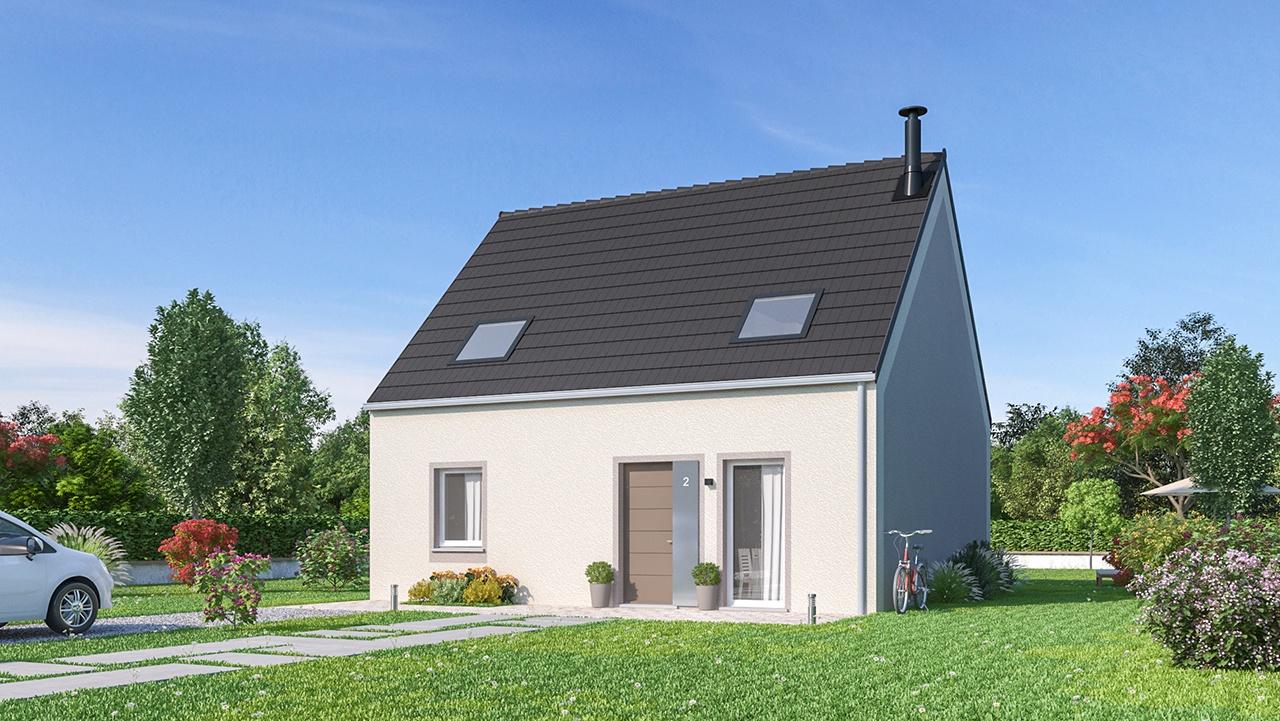Maisons + Terrains du constructeur MAISONS PHENIX MOISSELLES/BAILLET EN FC • 115 m² • RONQUEROLLES