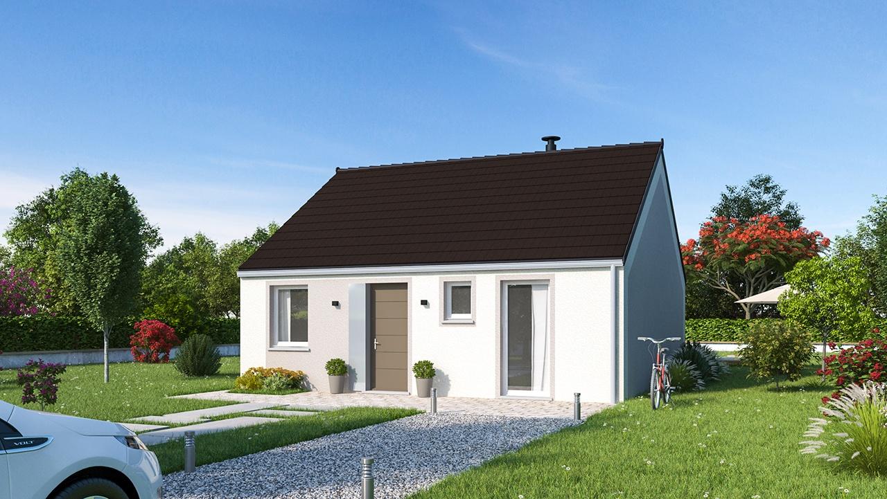 Maisons + Terrains du constructeur MAISONS PHENIX MOISSELLES/BAILLET EN FC • 65 m² • MERU